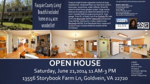 Open House - Goldvein VA